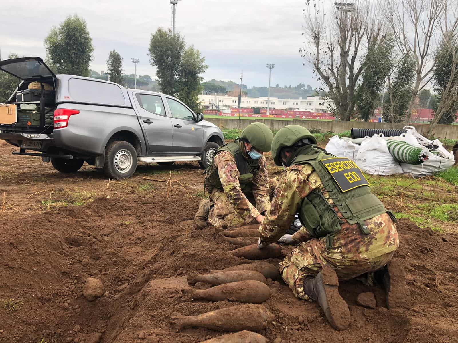 На базе «Ромы» найдены бомбы