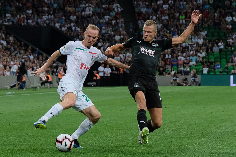 Матч «Зенита» с «Динамо»