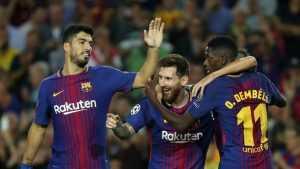 Барселона – главный фаворит Лиги чемпионов