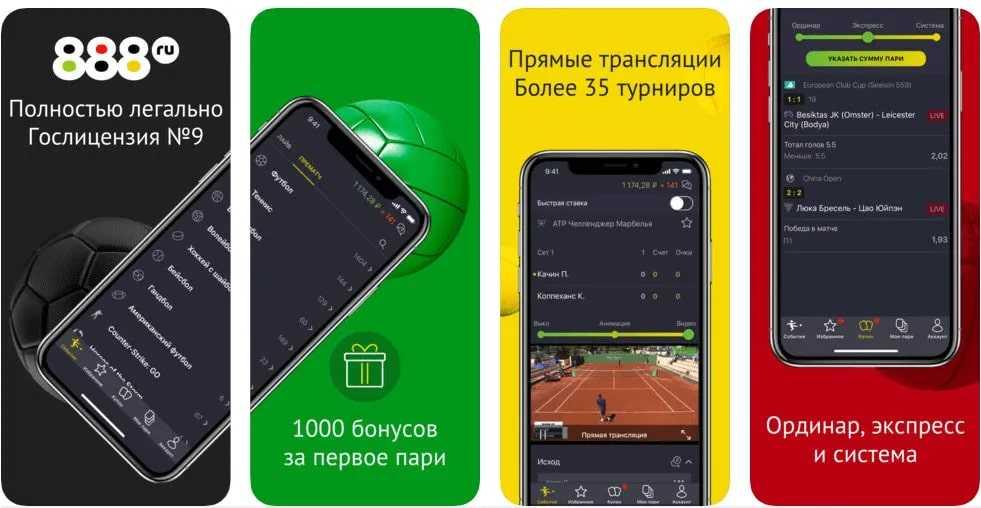 Обзор приложения от 888 БК