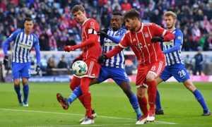Прогноз на матч «Герта» — «Бавария»