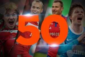 50 СОБЫТИЙ ЧЕМПИОНАТА РОССИИ