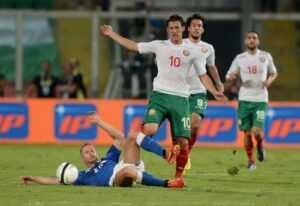 Прогноз на матч Болгария — Италия