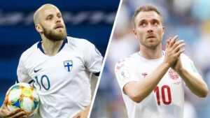 Прогноз на матч Дания — Финляндия