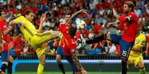 Прогноз на матч Испания — Швеция