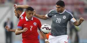 Прогноз на матч Чили — Парагвай