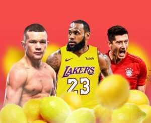 «Лимонный рейтинг» от БК «Париматч»