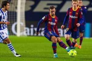 Прогноз на матч «Барселона» — «Реал Сосьедад»