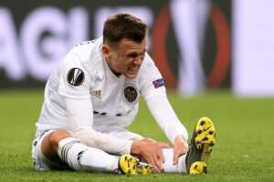 Черышев получил очередную травму в игре за «Валенсию»