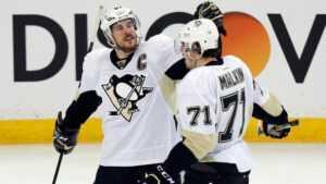 «Пингвины» начнут сезон без Малкина и Кросби