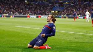 Гризманн догнал Платини по голам за Францию
