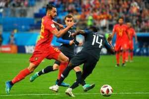Прогноз на матч Бельгия – Франция